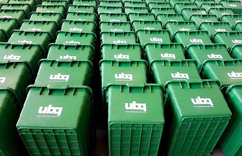 Central Virginia Waste Management Authority orders 2000 UBQ recycling bins