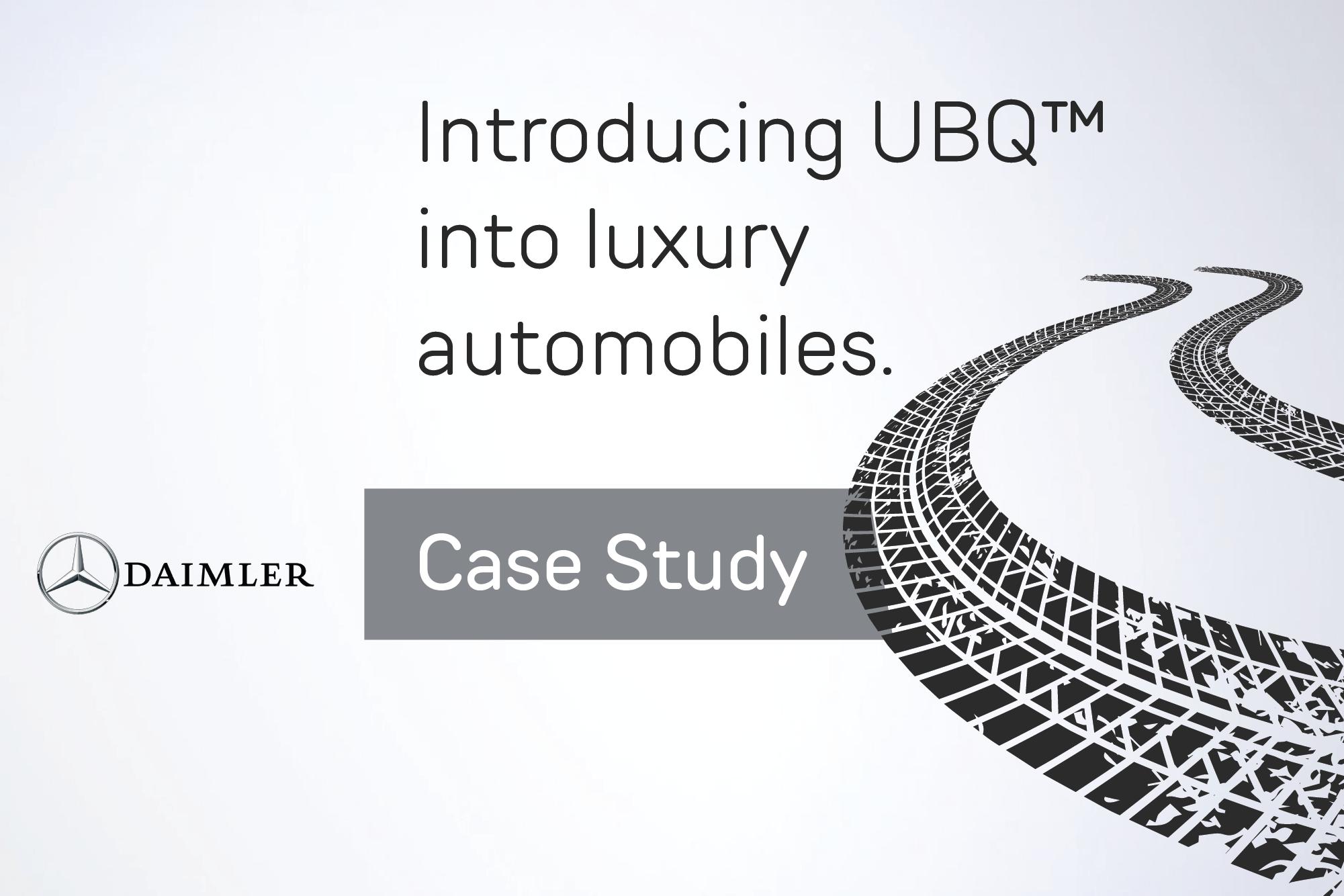 Case Study: Daimler